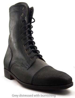 Grey, Leather