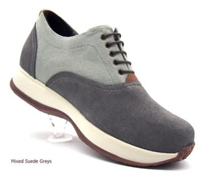 Grey, Suede