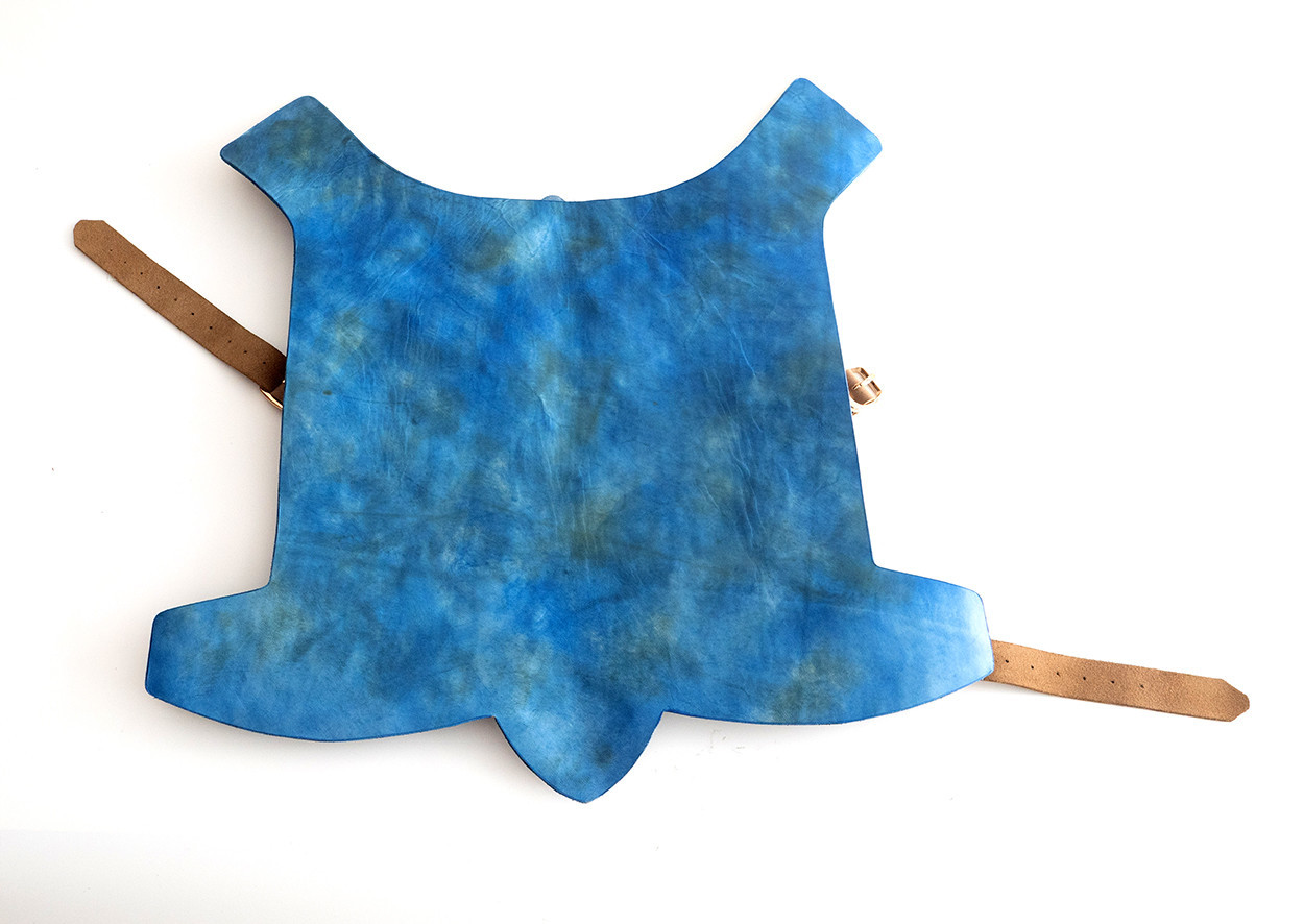 Picture of Patina Leather Dog Armor
