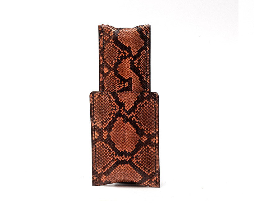 Bild von Leather Cigar Case 1/1 Lizard