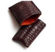 Picture of Leather Cigar Case 1/1 Trad Croc brown
