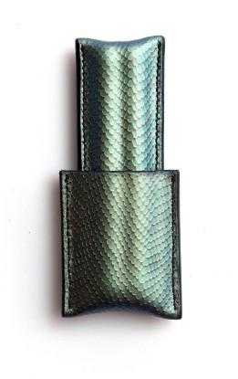 Image de étui à cigares en cuir 1/1 émeraude
