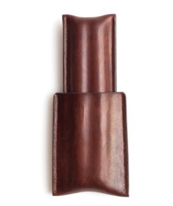 Image de étui à cigares en cuir 1/1 brun