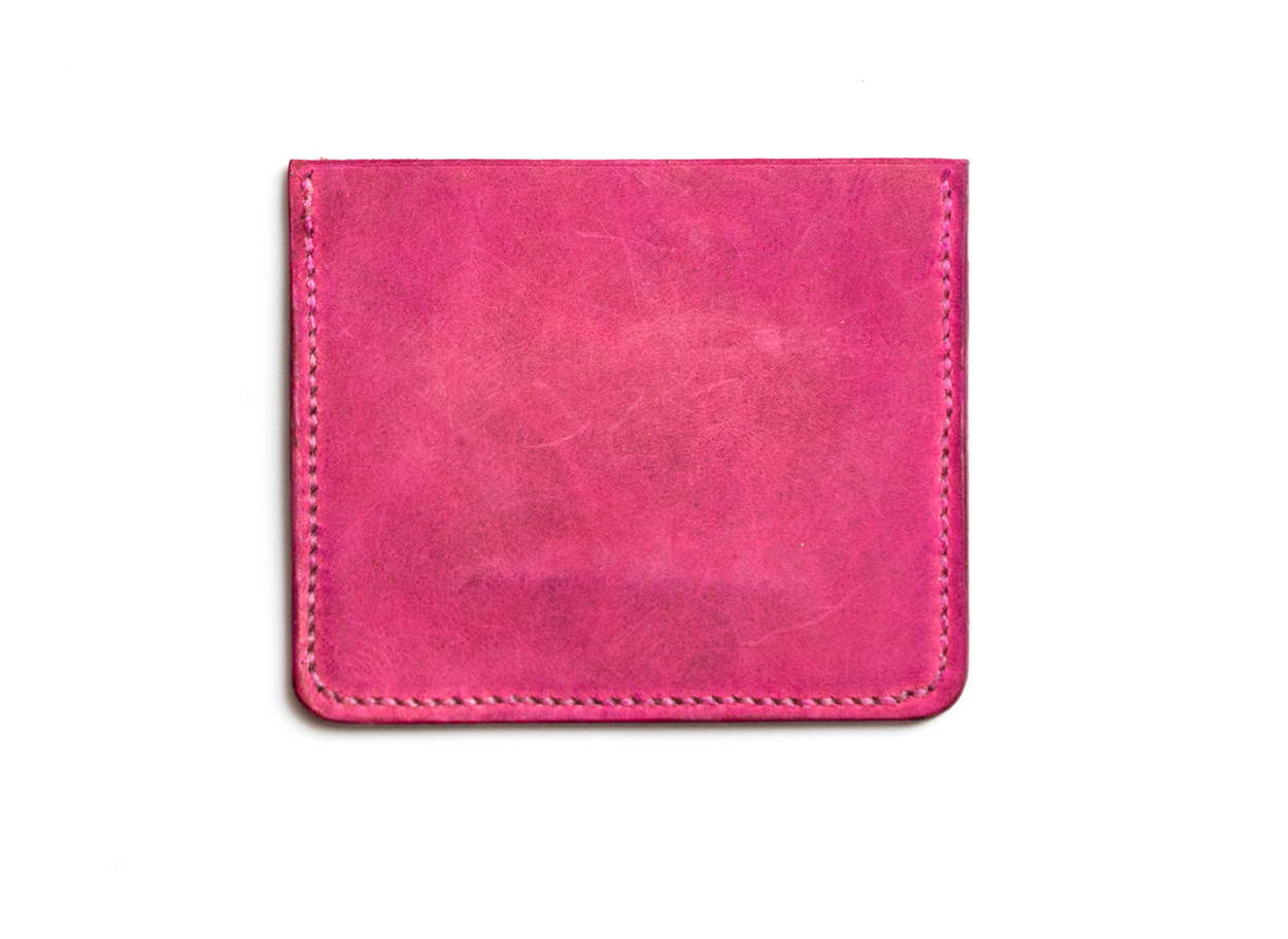 Picture of Pinkish Leather Card Wallet 1/1