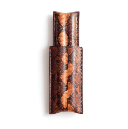 Leather Cigar Case 1/1 Lizzard Extended の画像