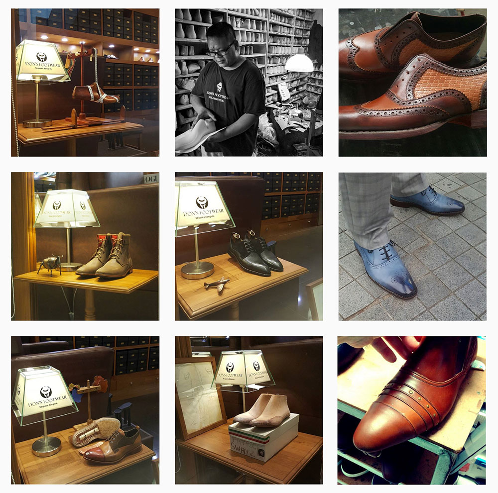 Don's Footwear Instagram